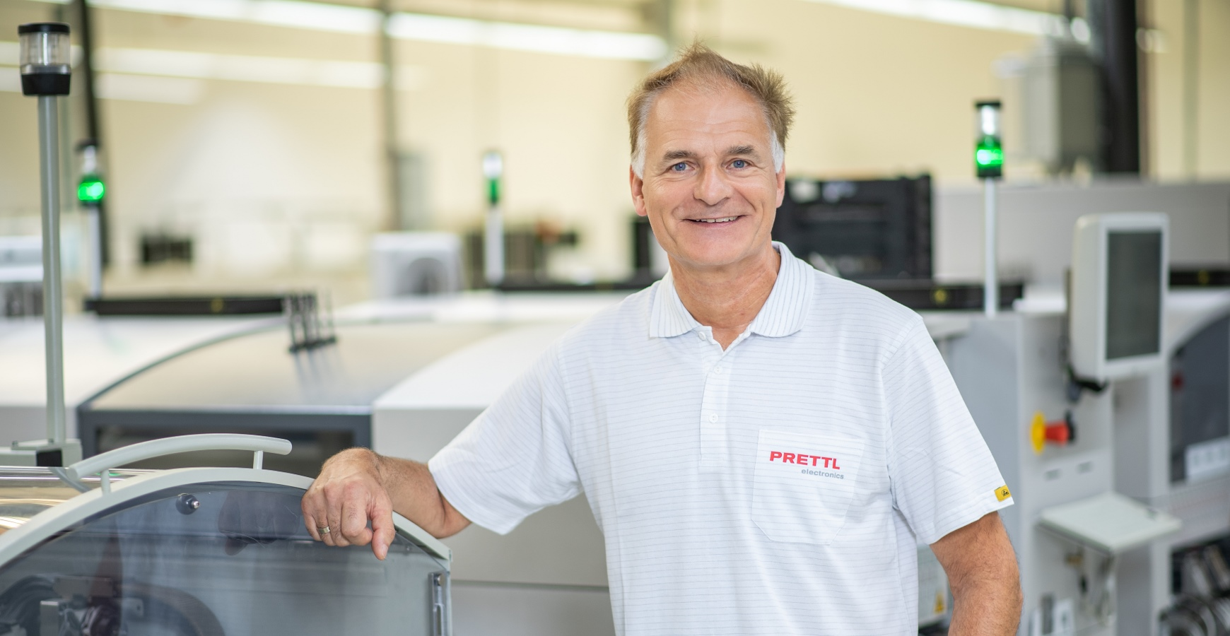 PRETTL electronics, Musterbau, Teamleiter